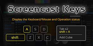 BlenderKeyScreenCast
